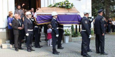 Pohřeb P. Jan Krist